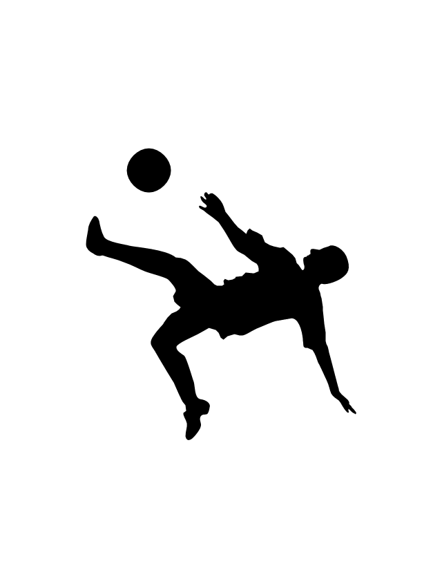 Soccer player, soccer player silhouette,