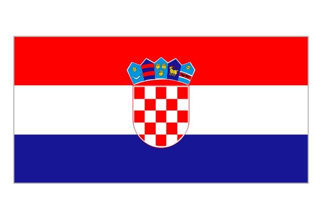 Flag of Croatia, Croatia,