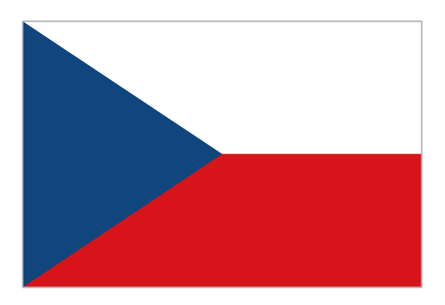 Flag of Czech Republic, Czech Republic,