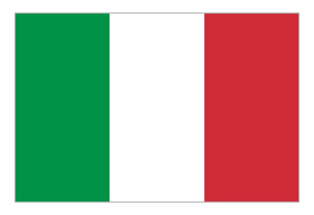 Flag of Italy, Italy,