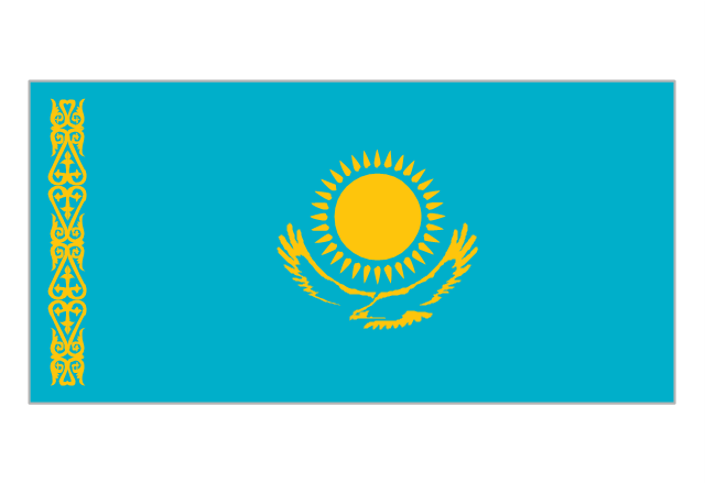 Flag of Kazakhstan, Kazakhstan,
