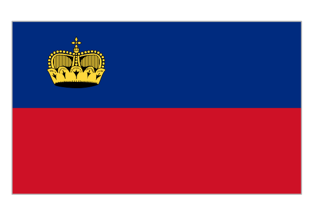 Flag of Liechtenstein, Liechtenstein,