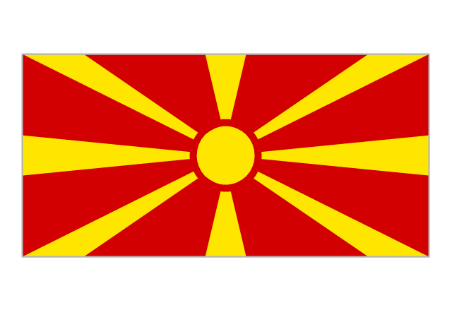 Flag of the Republic of Macedonia, Macedonia,