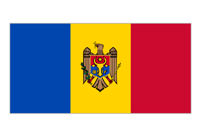 Flag of Moldova, Moldova,