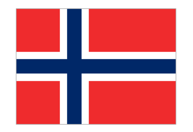 Flag of Norway, Norway,