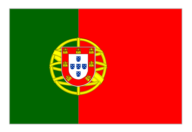 Flag of Portugal, Portugal,