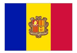 Flag of Andorra, Andorra,