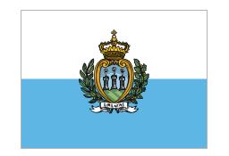 Flag of San Marino, San Marino,