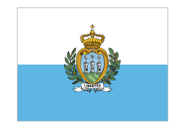 Flag of San Marino, San Marino,