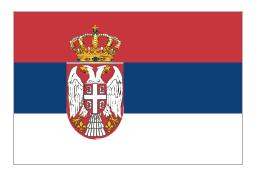 Flag of Serbia, Serbia,