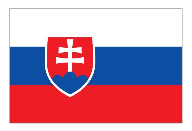 Flag of Slovakia, Slovakia,