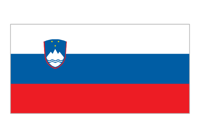 Flag of Slovenia, Slovenia,