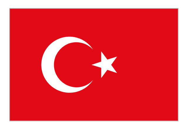 Flag of Turkey, Turkey,
