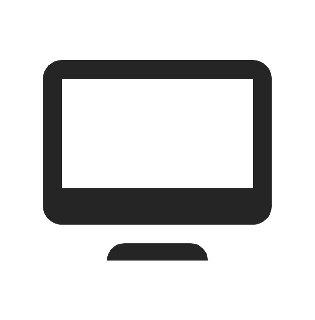 Computer, computer, monitor,