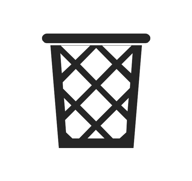 Wastepaper basket, trash bin, wastepaper basket,