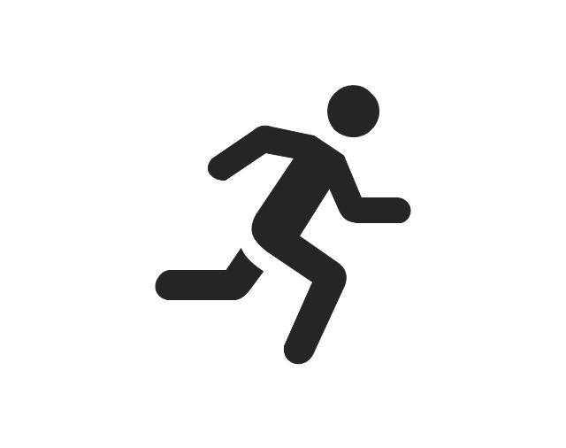 Running man, running man,
