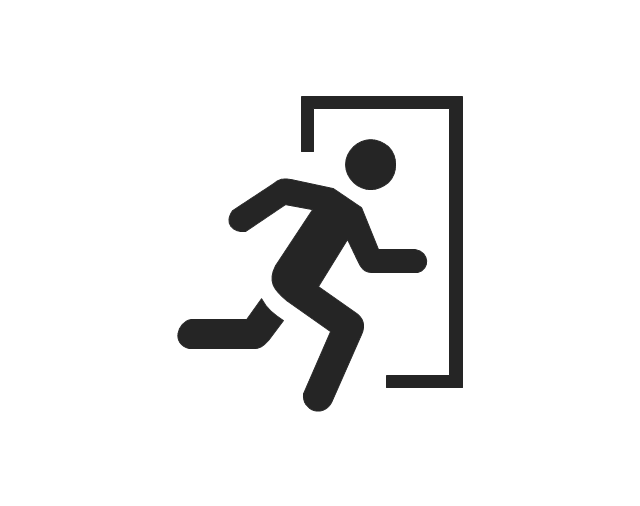 Man exit, man exit,