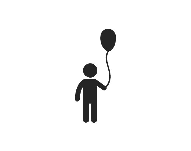 Child, child, child with balloon,