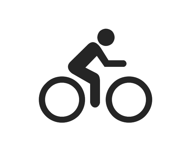 Man on a bicycle, man on a bicycle, cyclist,