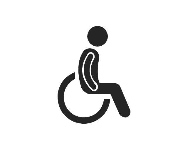 Man in wheelchair, man in wheelchair,