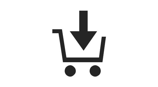 shopping pictograms