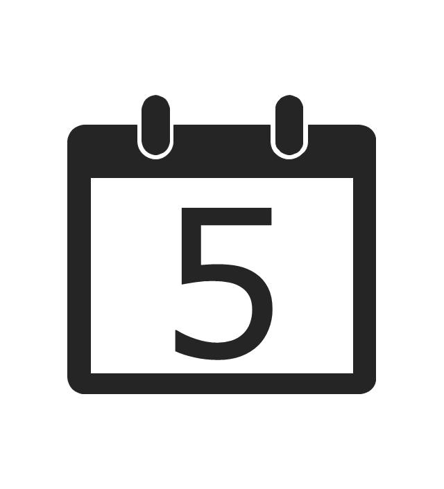 Current date, current date, calendar,