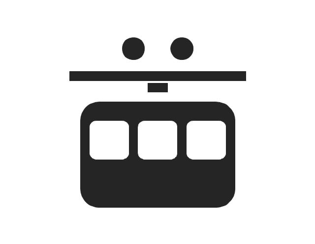 Aerial tramway, aerial tramway, ropeway, cableway,