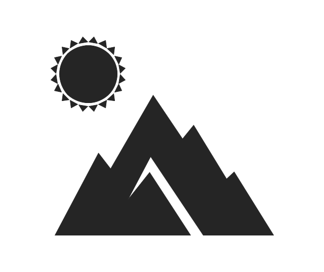 Mountains, mountains, landscape,