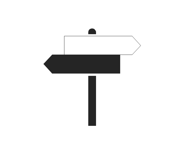 Sign, sign, direction,