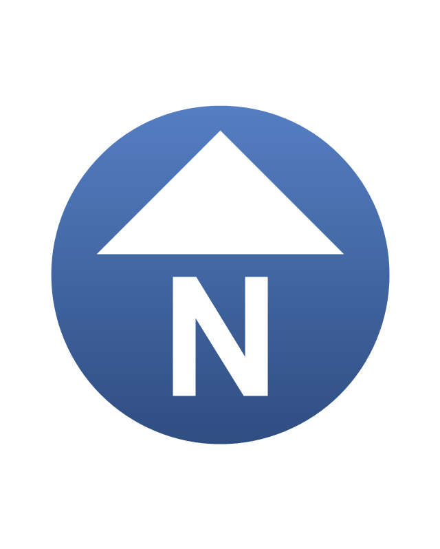 North arrow, North arrow,