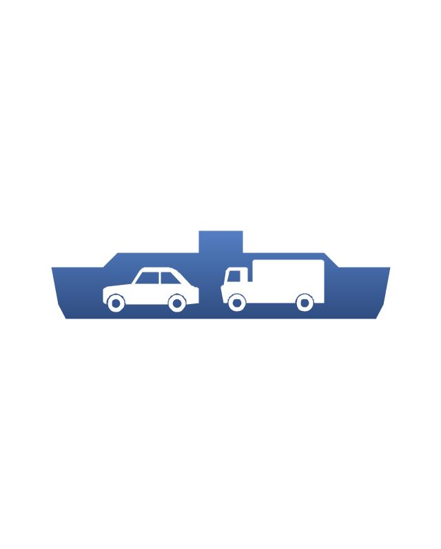 Car ferry, ferry, car ferry,
