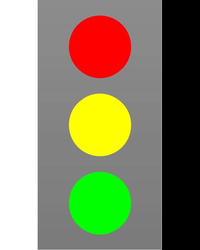 Stop light, stop light,