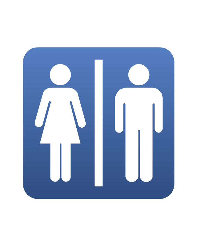 Restrooms / Toilets, restrooms, toilets, WC,