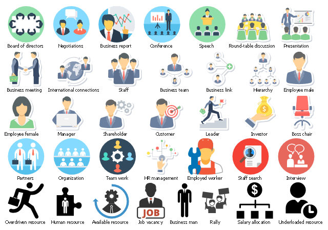Design Elements - Business People