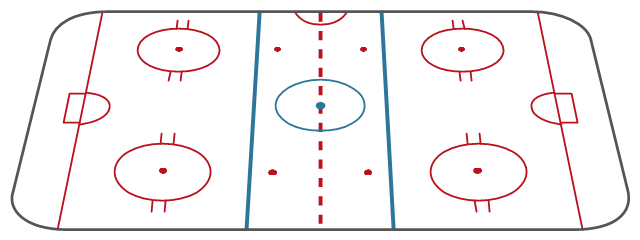 Ice hockey rink diagram template, hockey field, hockey field diagram, hockey field layout,