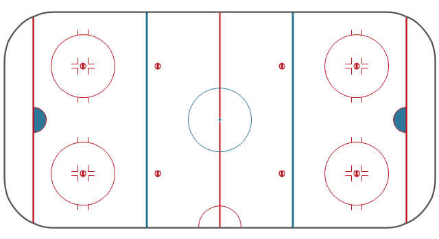 Simple hockey rink, hockey field, hockey field diagram, hockey field layout, ice rink layout,