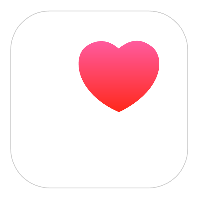 Image result for apple health app icon