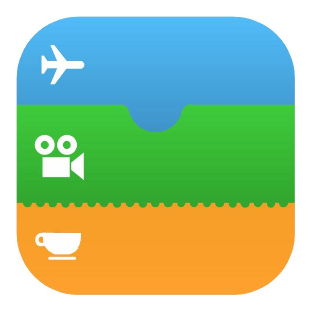 Passbook (iOS 7), Passbook icon,