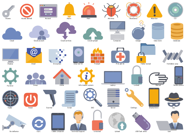 HR professions - Vector stencils library | Design elements ...