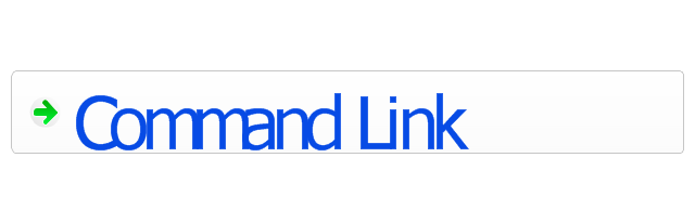 Command link - selected, command link,