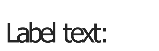Text box label, text box label,
