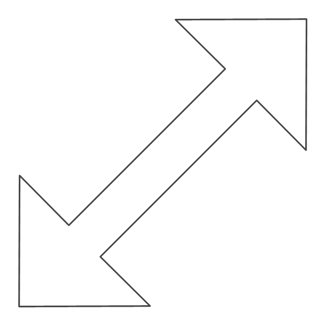 Diagonal resize pointer 2, diagonal resize pointer,