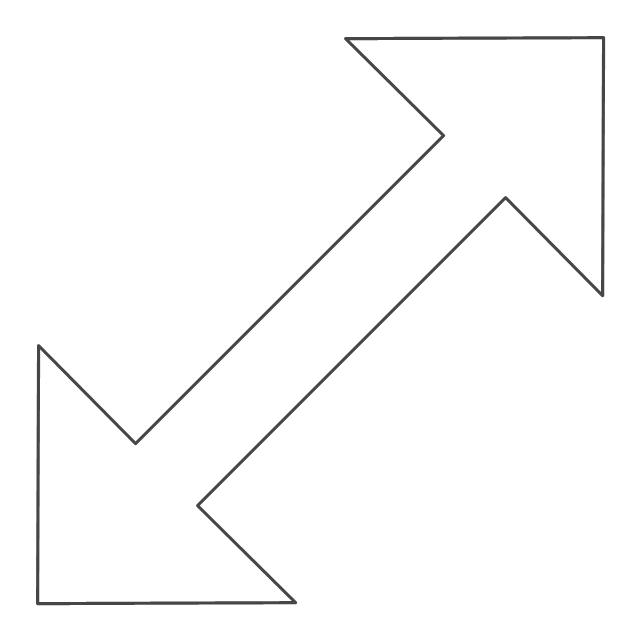 Diagonal resize pointer 2, diagonal resize pointer,