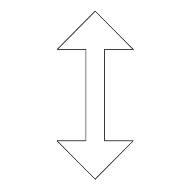 Vertical resize pointer, vertical resize pointer,