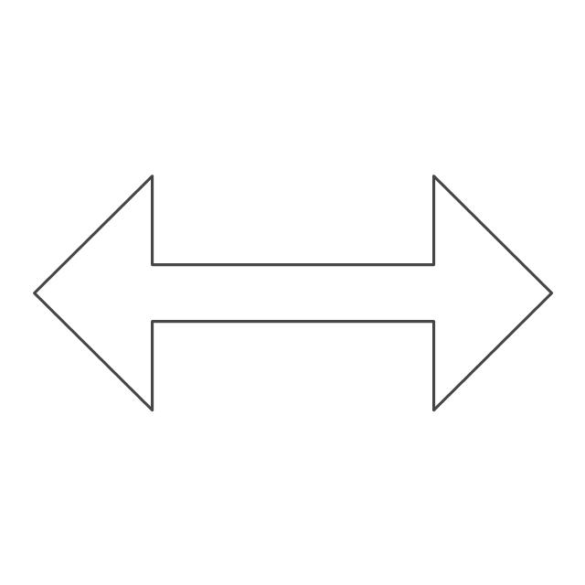 Horizontal resize pointer, horizontal resize pointer,