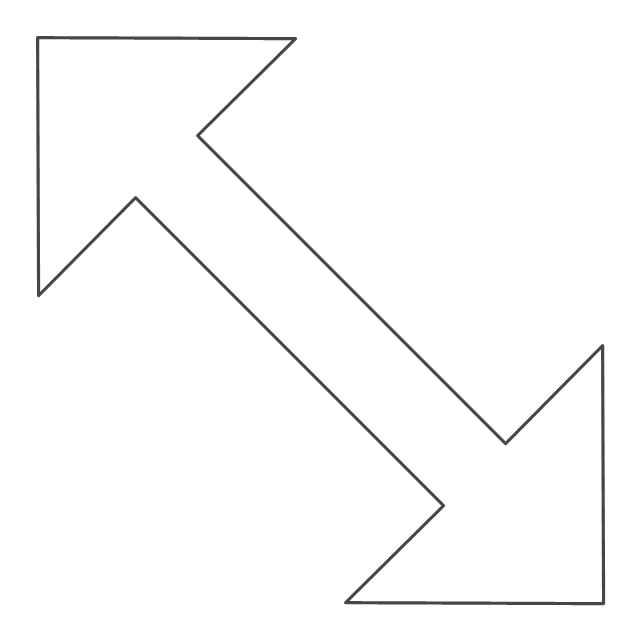 Diagonal resize pointer, diagonal resize pointer,