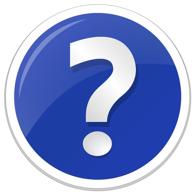 Question mark icon, question mark standard icon,