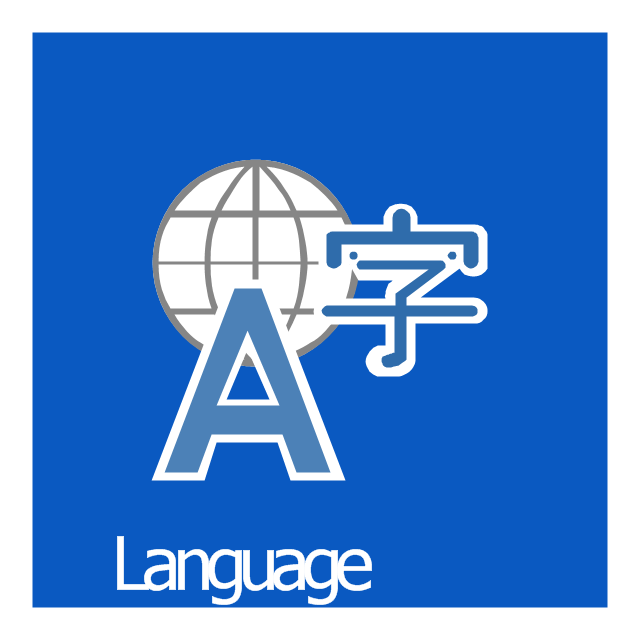 Language, Language icon,