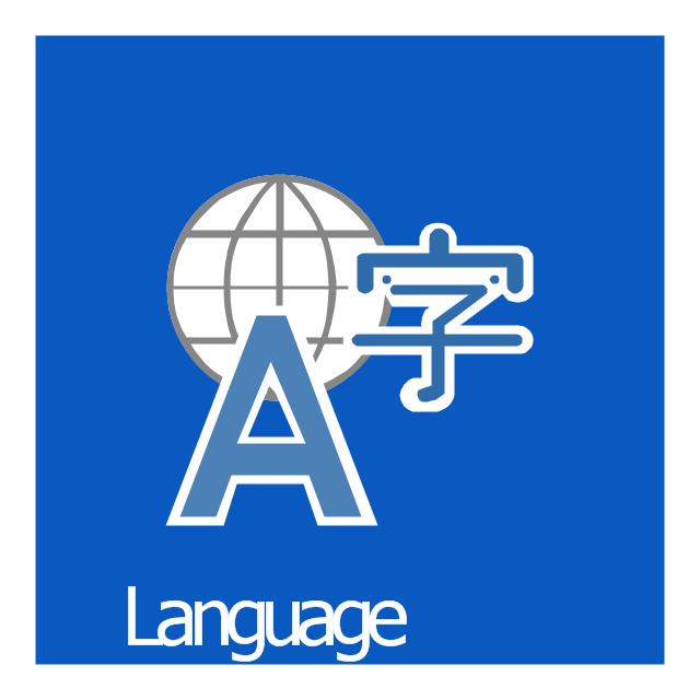 Language, Language icon,