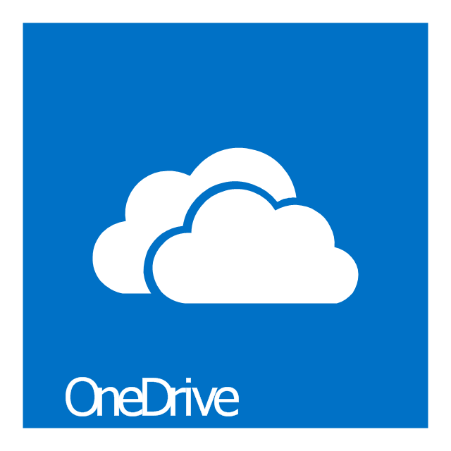SkyDrive, OneDrive icon,